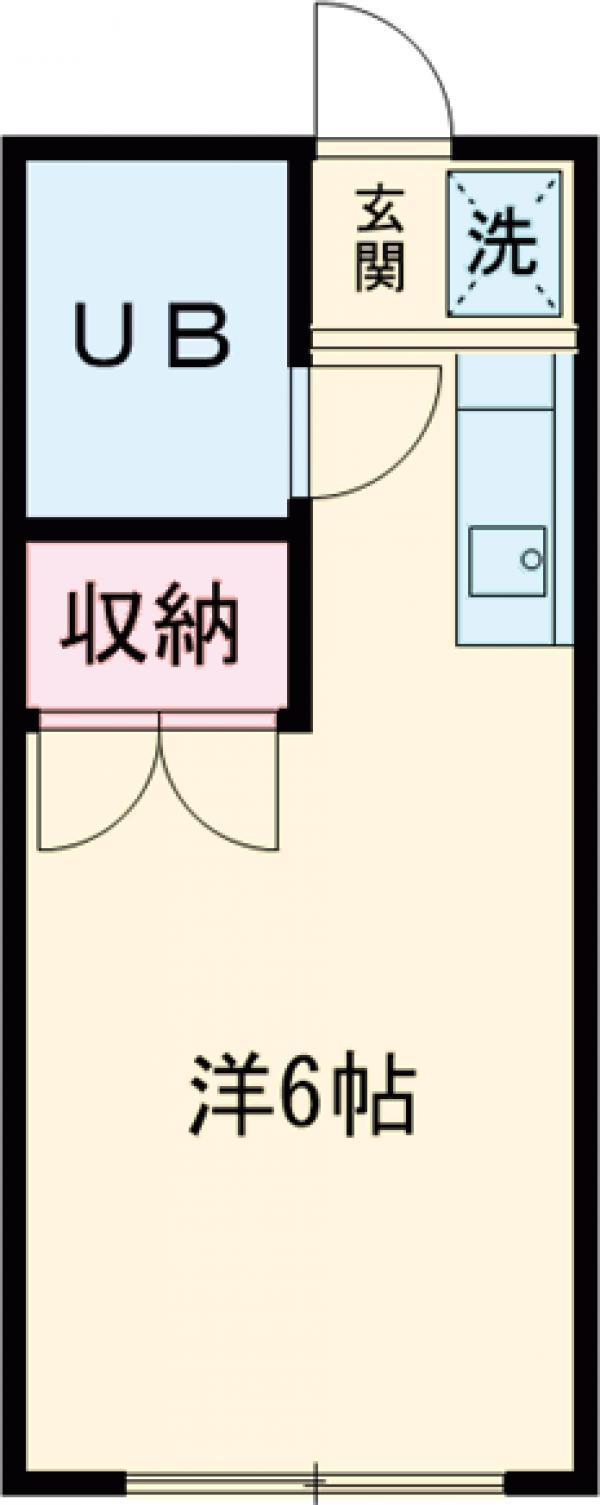 善福寺26番館・103号室の間取り