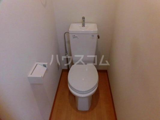 パワーク調布 305号室のトイレ