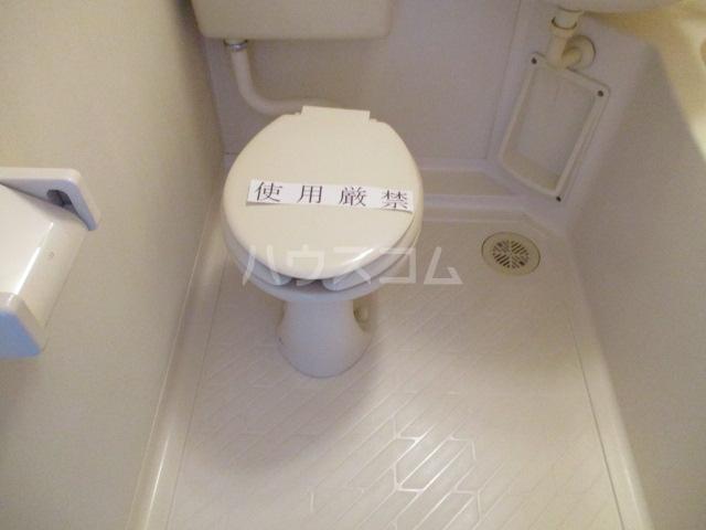 成城Ⅱ番館 201号室のトイレ