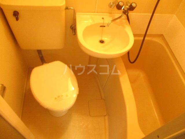 ラダトーム 101号室のトイレ