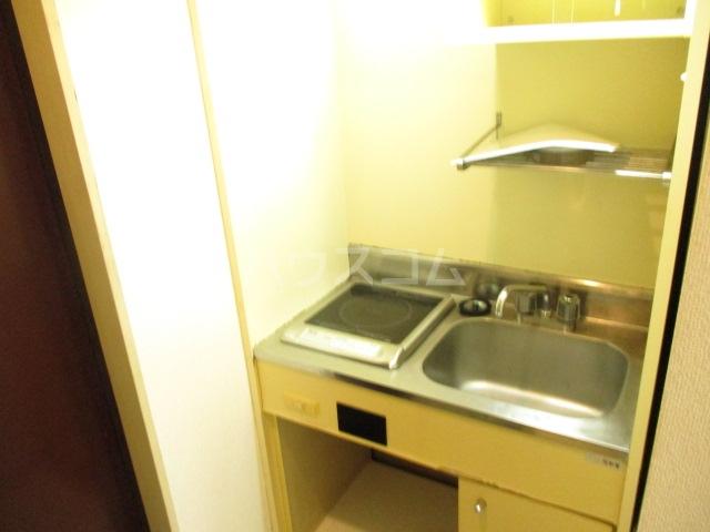 ラダトーム 101号室のキッチン
