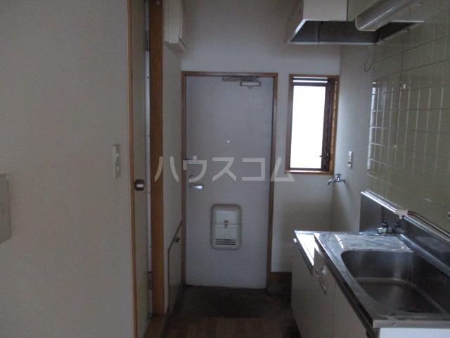 ハイム田中 102号室の玄関
