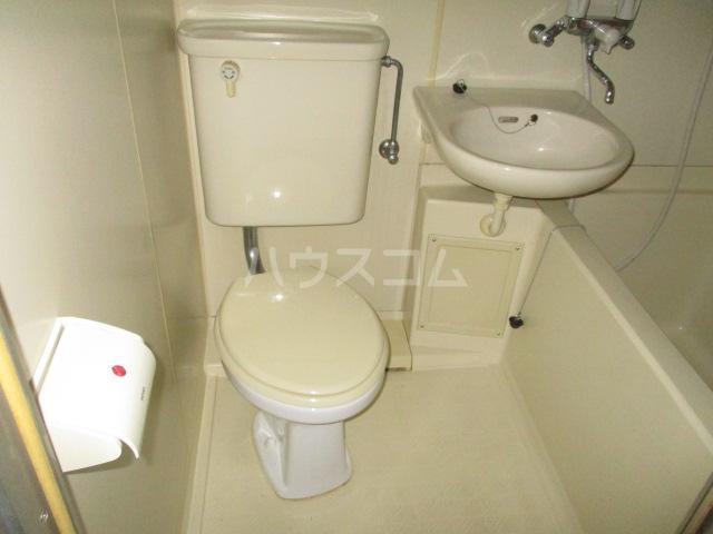 ハイム田中 102号室のトイレ