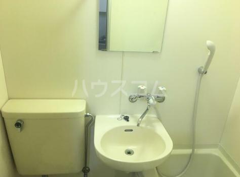 第5西調布ハイツ 203号室の洗面所