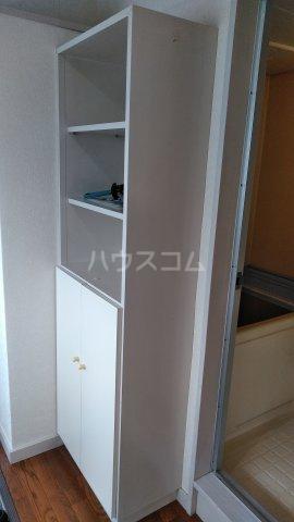 アシカワコーポB号棟 201号室の収納