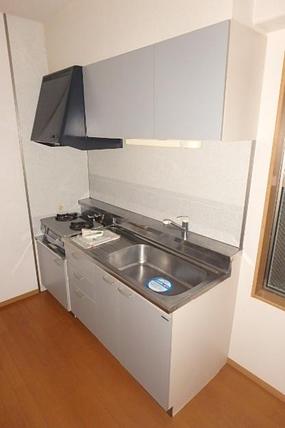 セリーシアビズミーム白壁 4B号室のキッチン