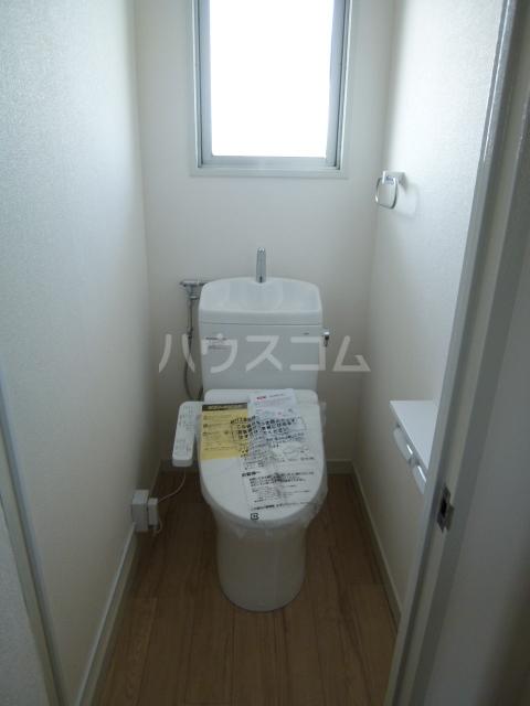 NTビル白壁 50A号室のトイレ