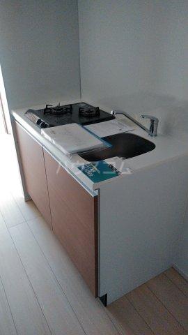 ラフィスタ調布多摩川 404号室のキッチン