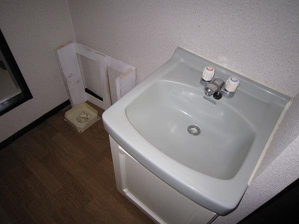 パークサイドコート 201号室の洗面所