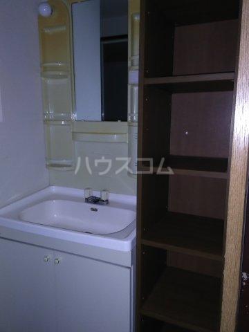 リブレ琥珀館 102号室の洗面所