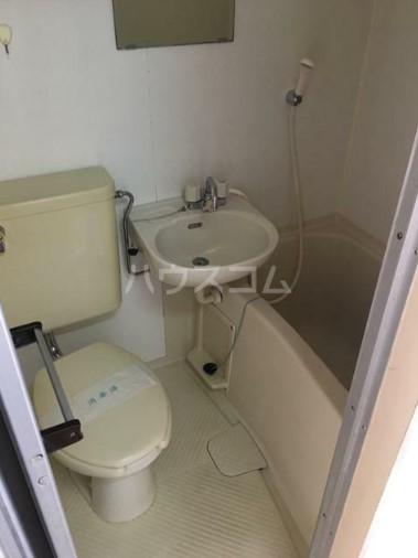 エンジェル 401号室のトイレ