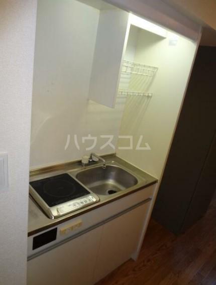チェリーパーク 204号室のキッチン