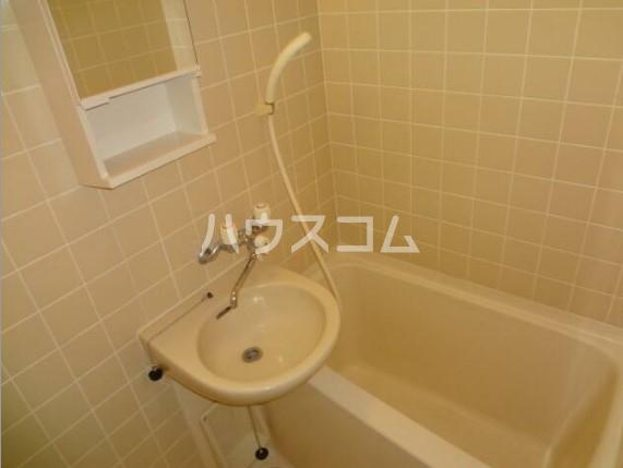 チェリーパーク 204号室の洗面所