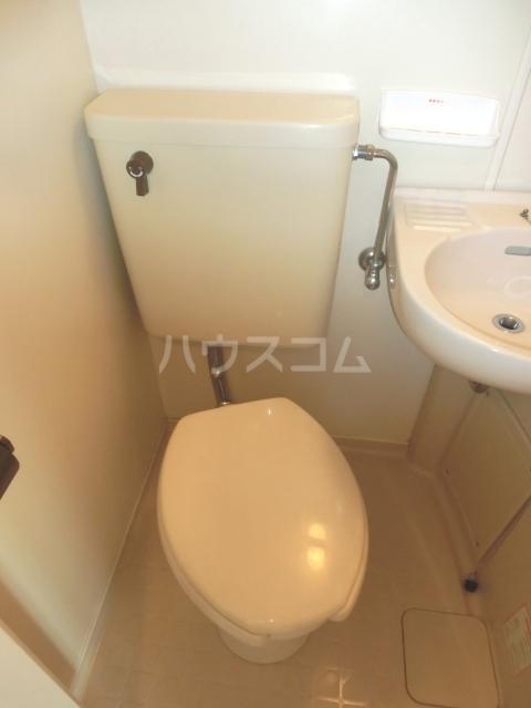 ラフォーレ姫池 702号室のトイレ
