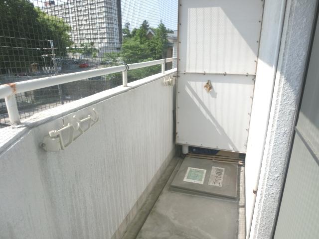 ラフォーレ姫池 702号室のバルコニー