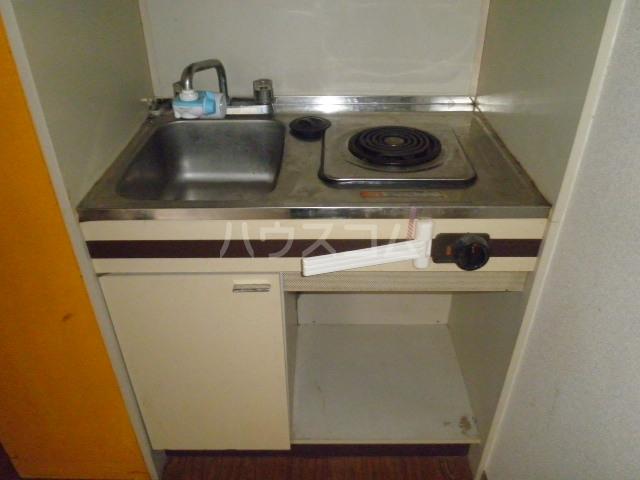 コア菊坂 401号室のキッチン