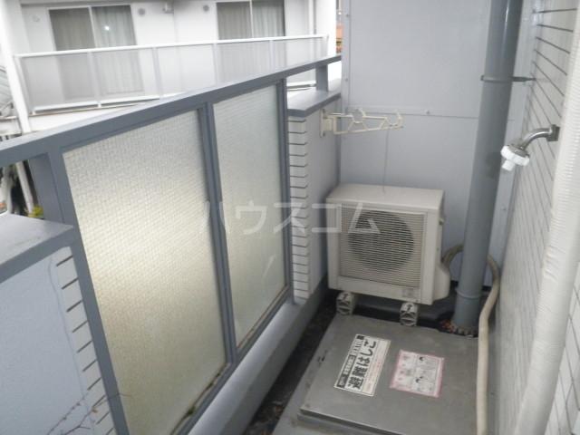コア菊坂 401号室のバルコニー