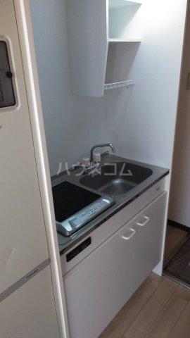 レジデンスカープ新小岩 200号室のキッチン