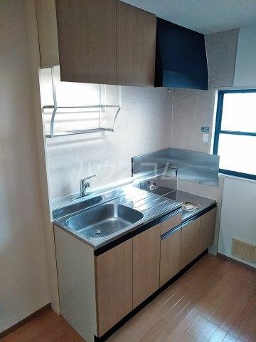 ビーライン差間B号棟 202号室のキッチン