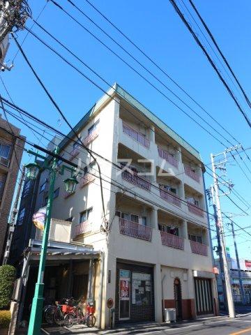 松川マンション 401号室の外観