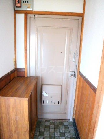 松川マンション 401号室の玄関