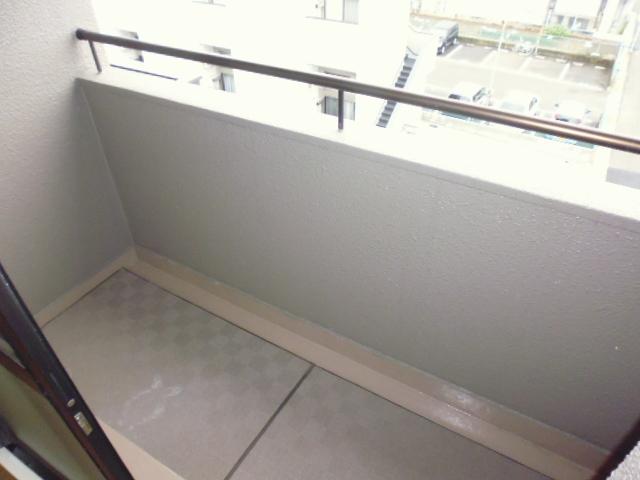 レ・ションド清涼 203号室のバルコニー