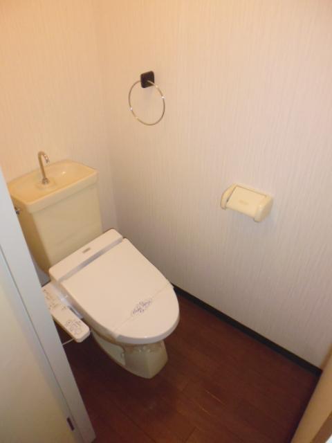 レ・ションド清涼 203号室のトイレ