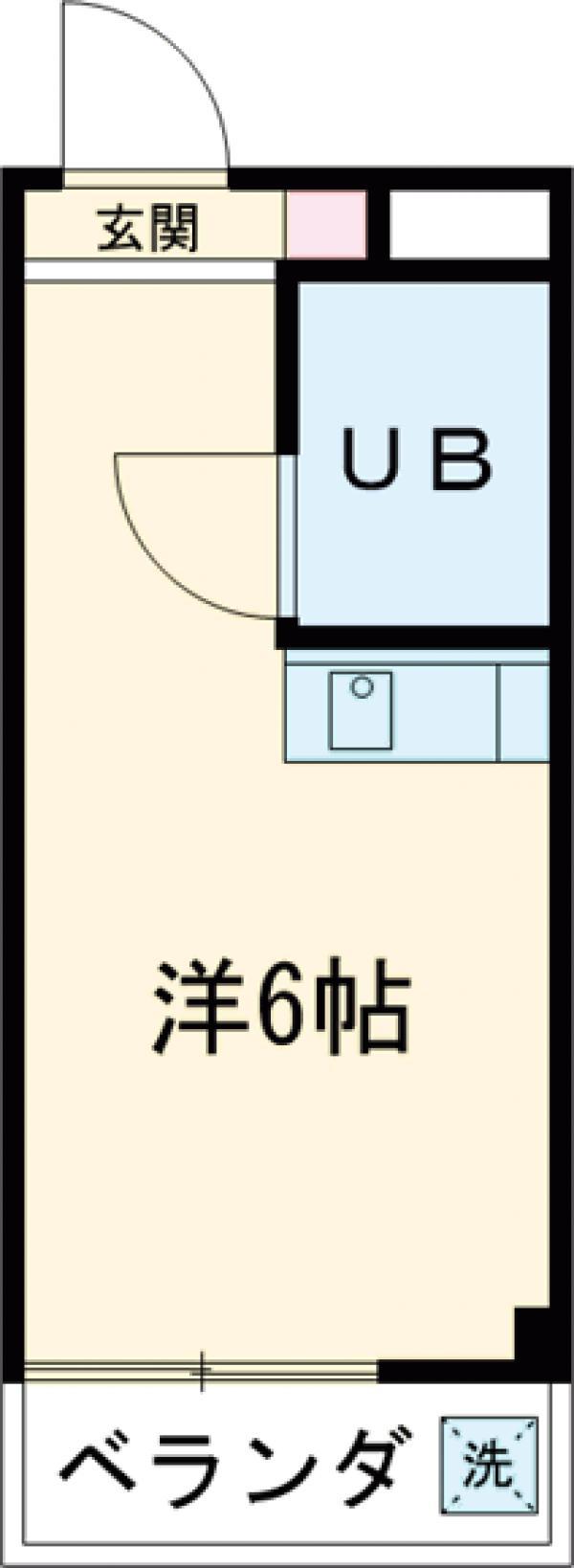 ファミーユオカダ・306号室の間取り