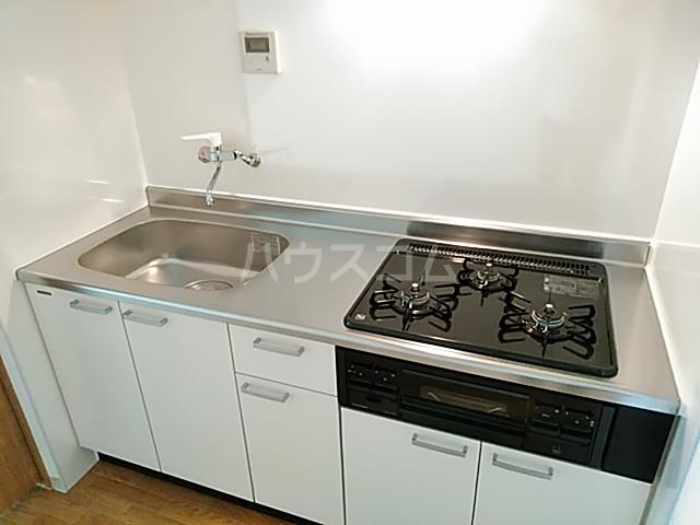 コーポとも 305号室のキッチン