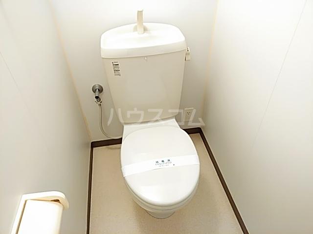 コーポとも 305号室のトイレ