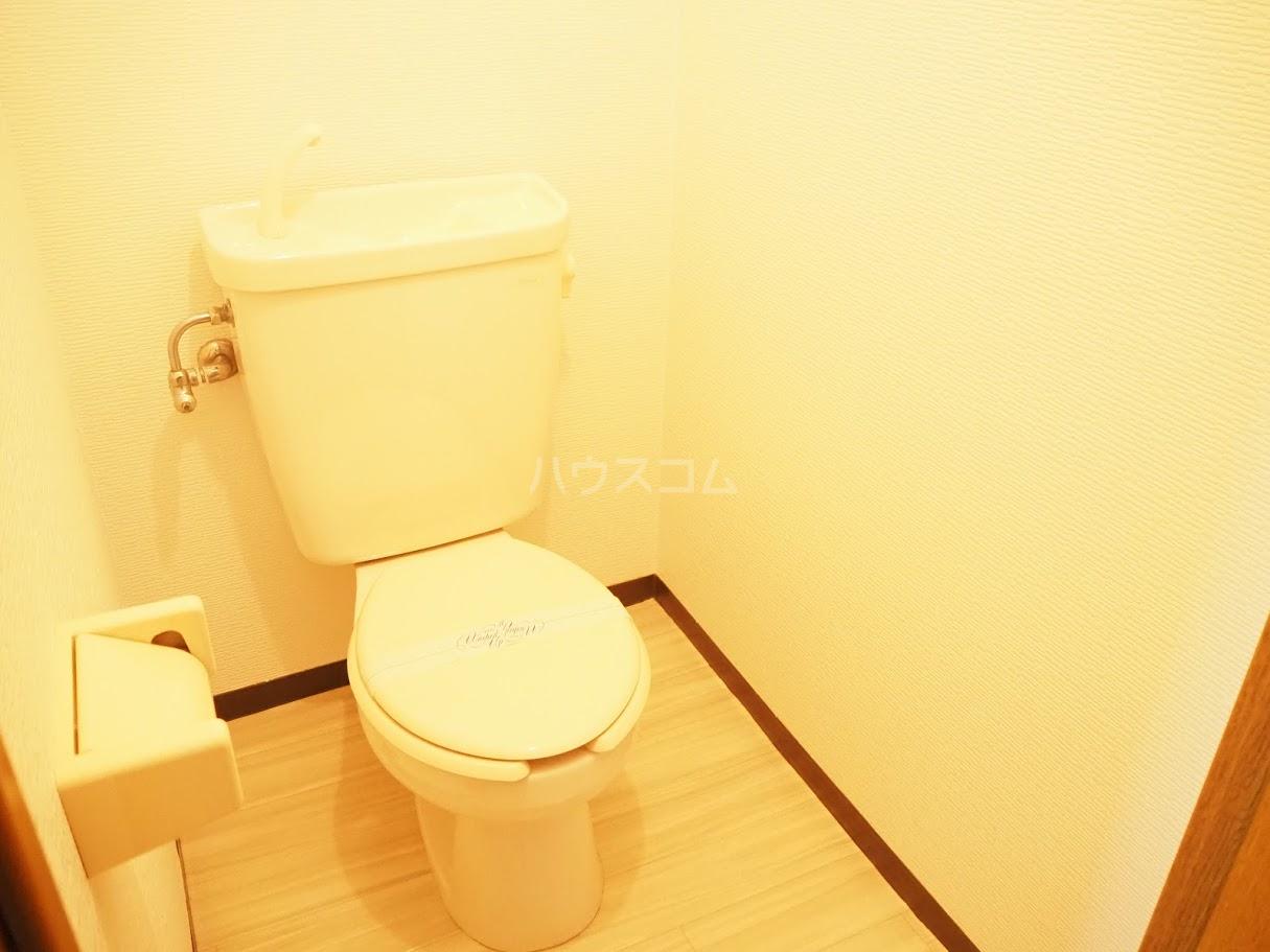 メゾンTMI 201号室のトイレ
