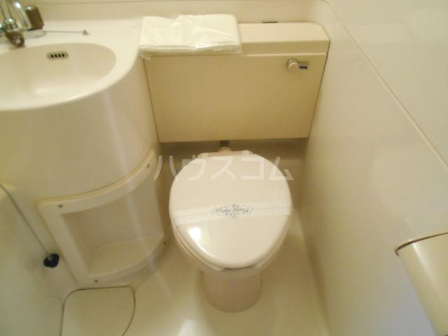 パラドール西院PART-Ⅰ 609号室のトイレ