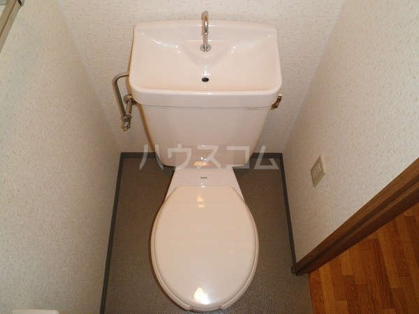 アートTMS 00208号室のトイレ