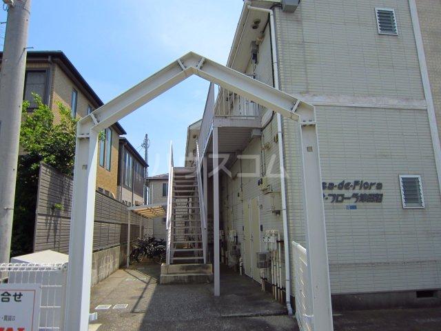 カサフローラ津田沼 206号室のエントランス
