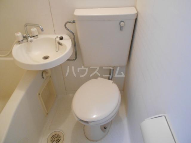 あすなろ館 1-B号室のトイレ