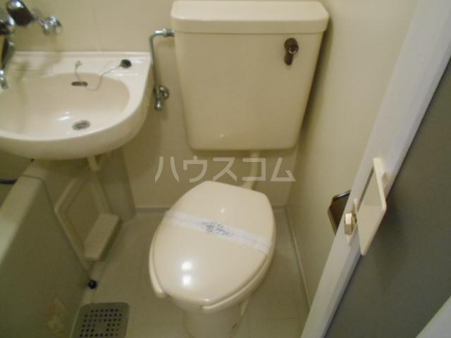 未麗 西京極 404号室のトイレ