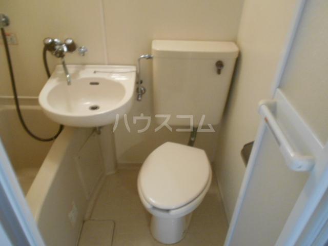 アメニティー京都1番館 3A号室のトイレ