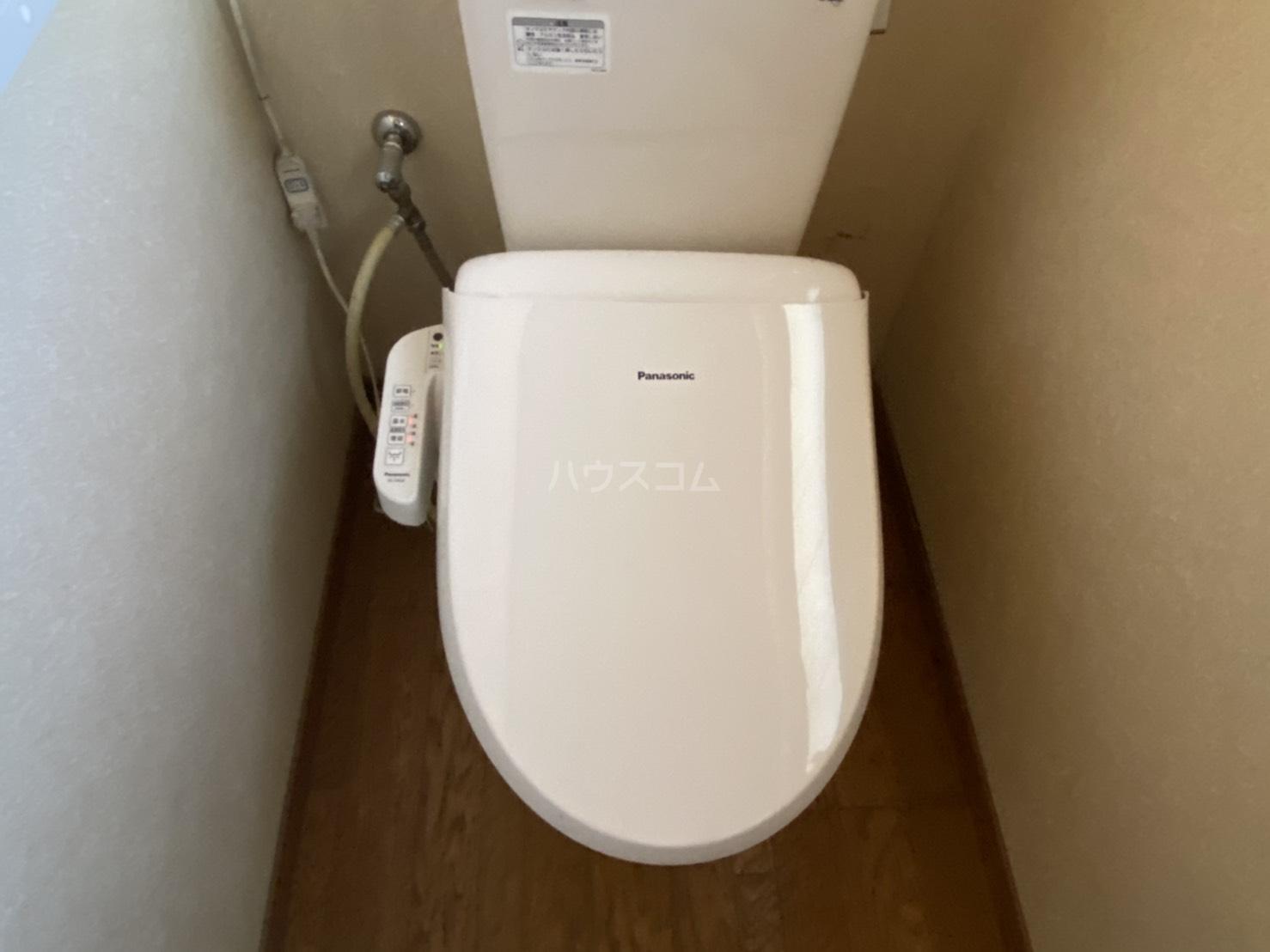 花園薮ノ下町貸家のトイレ