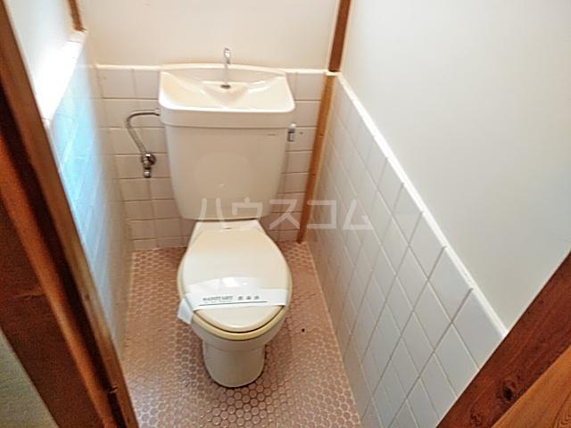 嵯峨大覚寺門前登り町貸家のトイレ