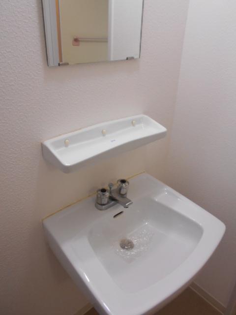 ヴィラ太秦 408号室の洗面所