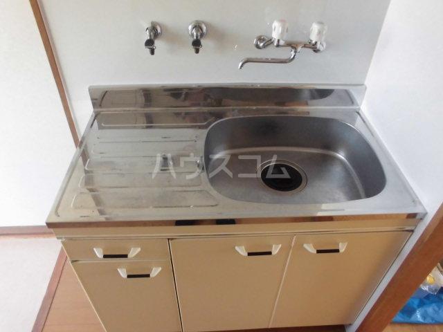 ハイツ山吹 207号室のキッチン