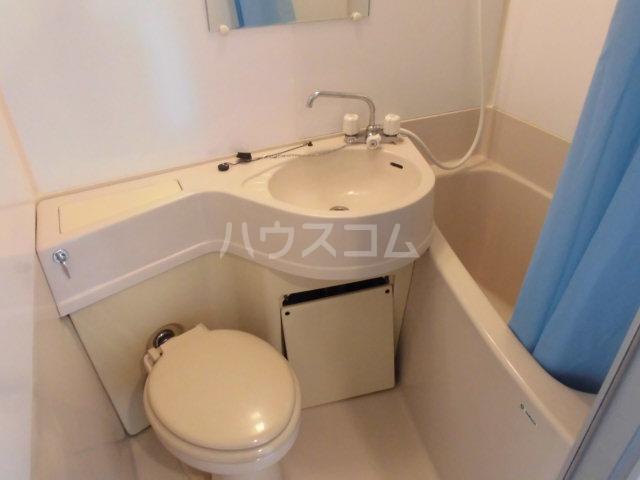 ハイツ山吹 207号室のトイレ