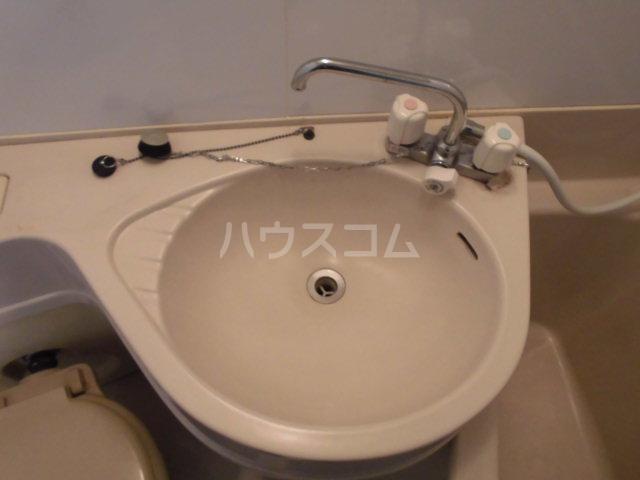 ハイツ山吹 207号室の洗面所