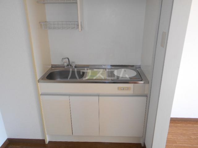 フラット6 405号室のキッチン