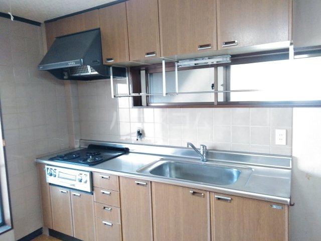シャローム石田 302号室のキッチン
