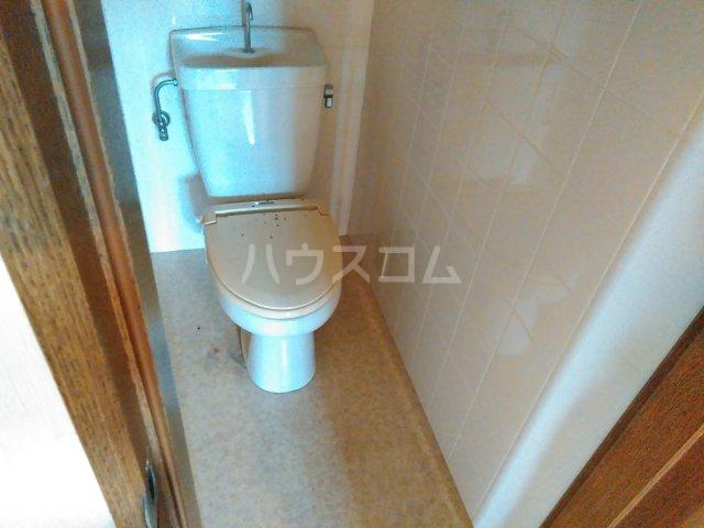 シャローム石田 302号室のトイレ
