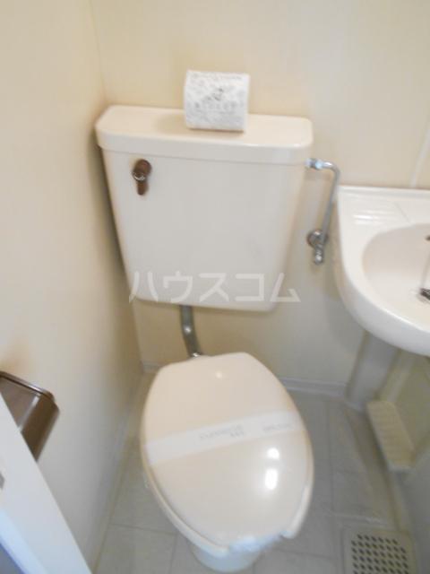 ベストプラザ 404号室のトイレ