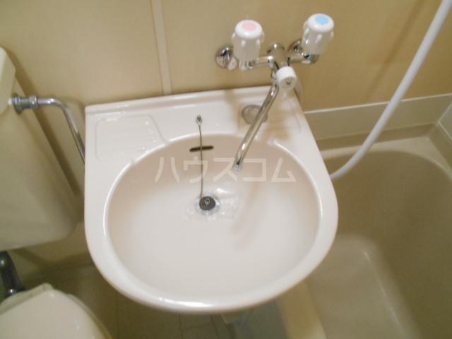 ベストプラザ 404号室の洗面所