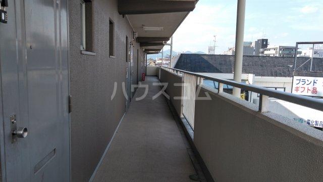 南桂雲荘 33号室のバルコニー
