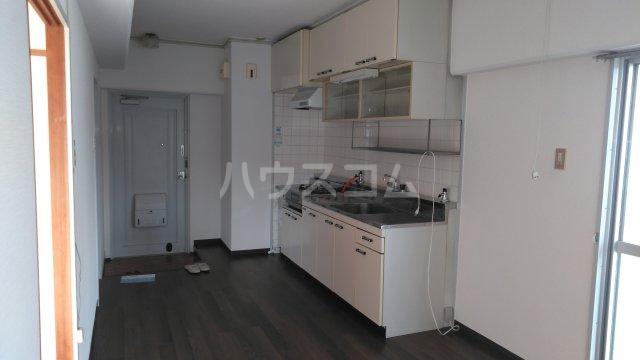 南桂雲荘 33号室のキッチン